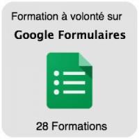 Formez-vous sur Google Forms