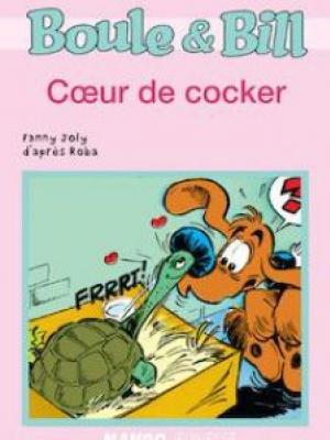 Boule et Bill - Cœur de cocker